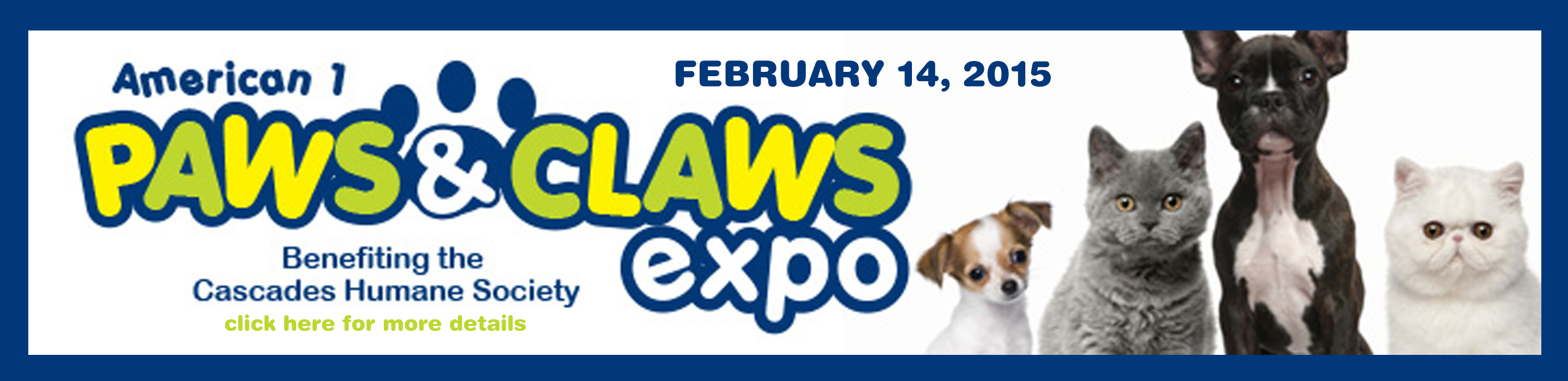 Paws & Claws Expo