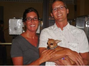 Paula and Joel Freehling—Poncho's foster parents